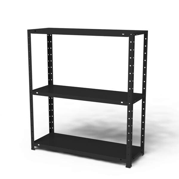 Estante multiuso metal preto 90x80x28 5cm elite a o for Mobiletti multiuso leroy merlin