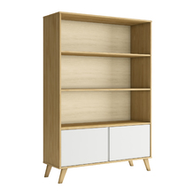 Estante Decorativa Madeira Branco 175x120x40cm Memory P&C