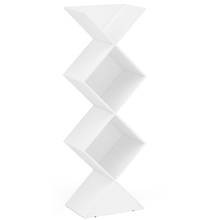 Estante Decorativa Triangular Branco Durban 178x61,8x40cm