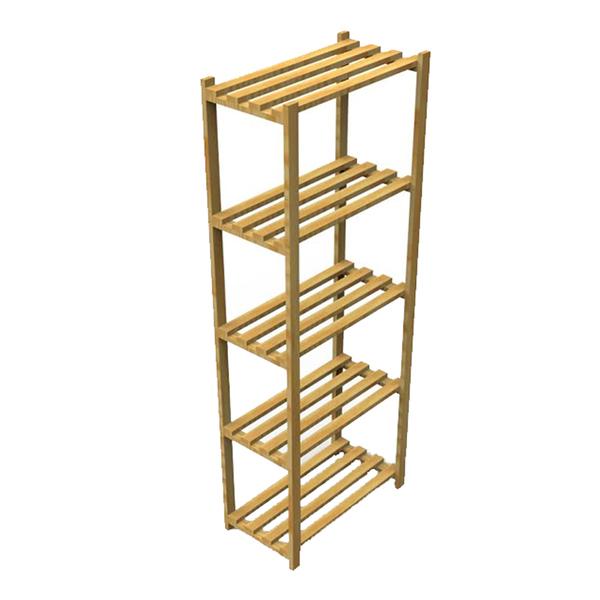 Estante multiuso madeira 170x60x32cm spaceo leroy merlin for Mobiletti multiuso leroy merlin