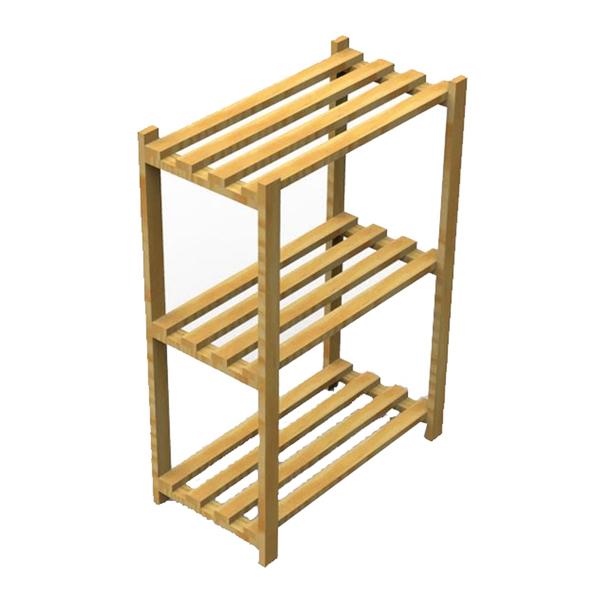 Estante multiuso madeira 90x60x32cm spaceo leroy merlin for Mobiletti multiuso leroy merlin