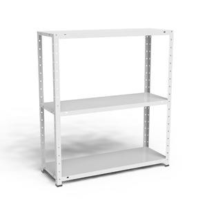 Estante multiuso metal branco 90x80x28 5cm elite a o for Mobiletti multiuso leroy merlin