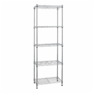 Estante Multiuso Metal Cromada 180x60x35cm Spaceo