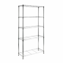 Estante Multiuso Metal Cinza 180x90x35cm Spaceo