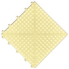 Estrado 0,3x0,3x0,015cm Bege Plástico Impallets