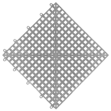 Estrado 0,3x0,3x0,015cm Cinza Plástico Impallets