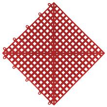 Estrado 0,3x0,3x0,015cm Preto Plástico Impallets
