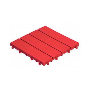 Estrado 20x300x300mm Vermelho EL431 Massol