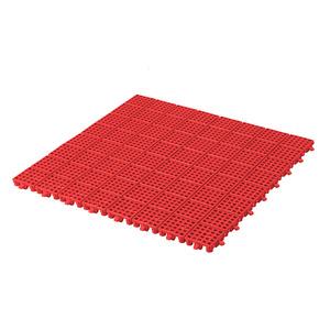 Estrado 20x495x495mm Vermelho EF20233 Massol