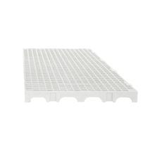 Estrado 25x50x2,5cm Branco Plástico Impallets