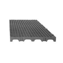 Estrado 25x50x2,5cm Cinza Plástico Impallets