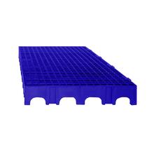 Estrado 25x50x5cm Azul Plástico Impallets