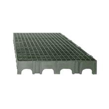 Estrado 25x50x5cm Cinza Plástico Impallets