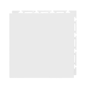Estrado 30x30cm Branco Plástico Liso Piso Fácil NAI BR