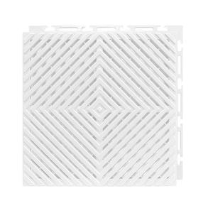 Estrado 30x30cm Branco Plástico Vazado Piso Fácil NAI BR