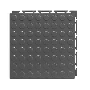 Estrado 30x30cm Cinza Plástico Moeda Piso Fácil NAI BR