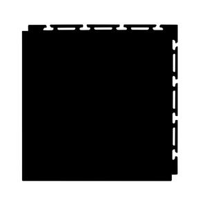 Estrado 30x30cm Preto Plástico Liso Piso Fácil NAI BR
