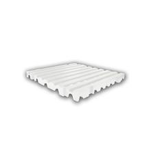 Estrado 50x50x4,5cm Preto Plástico Impallets