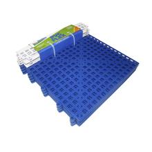 Estrado 8x30x30cm Azul Plástico 4 peças Impallets