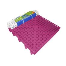 Estrado 8x30x30cm Rosa Plástico 4 peças Impallets
