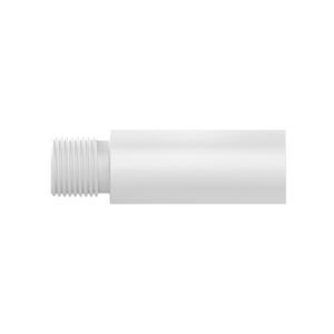 """Extensão 1/2""""x60mm para Chuveiro e Torneira ABS Branca Blukit"""