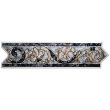 Faixa Decorativa Cerâmica GLD2500 8,5x33cm Gabriella