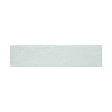 Faixa Decorativa Retangular Cerâmica Brick Branco 8,5x35cm Artens