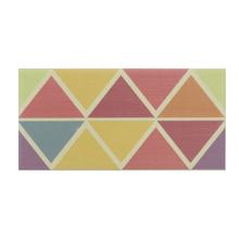 Faixa Decorativa Retangular Cerâmica Geométrico 7,5x15cm Artens