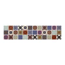 Faixa Decorativa Retangular Cerâmica HDLR11024 8,5x35cm Artens