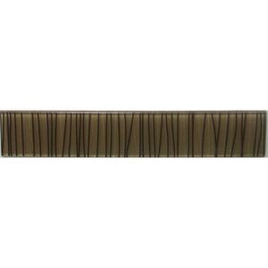 Faixa Decorativa Retangular Vidro Linea 5X30 cm Vetromani
