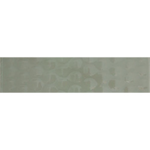 Faixa Decorativa Retangular Vidro Relevo 10X40 cm Vetromani