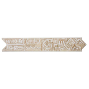 Faixa Decorativa Semi-Brilho Universal Cerâmica Etnica 5,5X31,2 cm Incepa