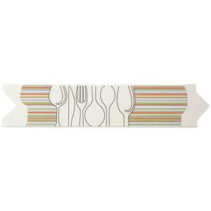 Faixa Decorativa Brilhante Universal Cerâmica Uni Drink Color Beige 7,5x33,5cm Eliane