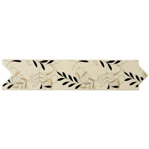 Faixa Decorativa Brilhante Universal Cerâmica Uni Garden Beige Beige 7,5x33,5cm Eliane