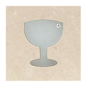 Faixa Decorativa Vinho TLC10002 10x10cm Tessela