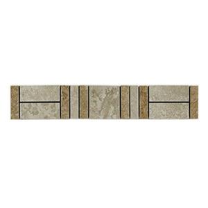 Faixa Mosaico Cerâmica 5,5x34cm Telado Mo8806 Peca Lineart