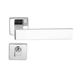 Fechadura para Portas de Banheiro 40mm Aço Cromado Acetinado Duna Imab