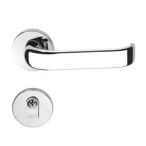 Fechadura para Portas de Banheiro 40mm Aço Pintado Duna Imab