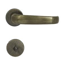 Fechadura Banheiro 40mm Zamac Oxidado Standard Papaiz