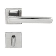 Fechadura Banheiro 55mm Aço Inox Polido 454 La Fonte