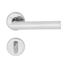 Fechadura Banheiro 55mm Aço Inox Polido 892 La Fonte