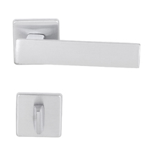Fechadura Banheiro 55mm Zamac Cromado Acetinado Metro Light Imab