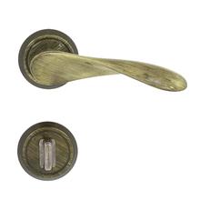 Fechadura Banheiro 55mm Zamac Oxidado Wave Papaiz