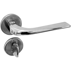 Fechadura de Banheiro Alavanca Nisa Cromado 40mm - Imab