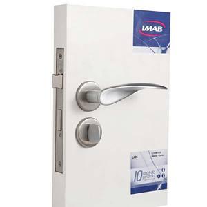 Fechadura de banheiro LAOS 7469B14 CA 40MM