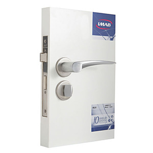 Fechadura de banheiro UNO 0577B19 AQ 55MM
