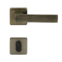 Fechadura Entrada 40mm Zamac Oxidado Quadra Arouca