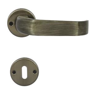 Fechadura Interna 40mm Zamac Oxidado Una Arouca