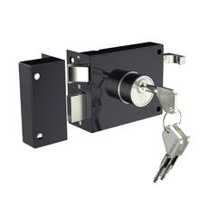 Fechadura para Porta de Entrada 40mm Zamac Cromado  Soprano