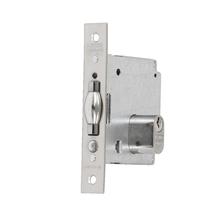 Fechadura para Porta Pivotante 45mm Aço Inox Cromado V378 La Fonte